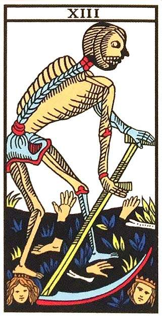 Tarot Major Arcana: Death