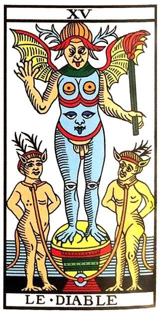Tarot Major Arcana: The Devil