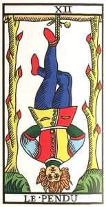 Tarot Major Arcana: The Hanged Man