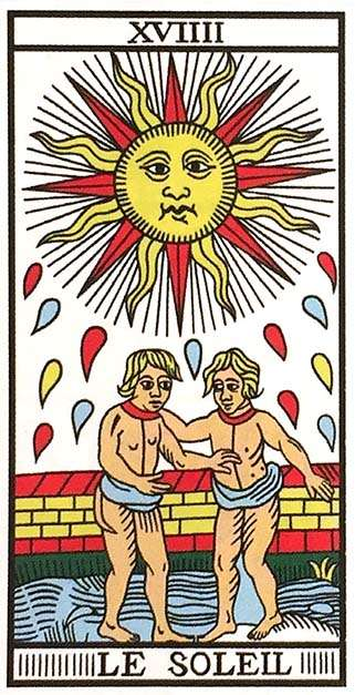 Tarot Major Arcana: The Sun