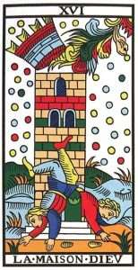 Tarot Major Arcana: The Tower