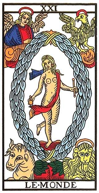 Tarot Major Arcana: The World