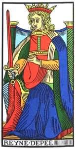 marseilles swords queen