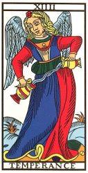 Tarot Major Arcana: Temperance